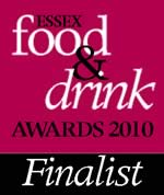 Essex Food & Drink Award Finalist 2010 - The Hurdlemakers Arms
