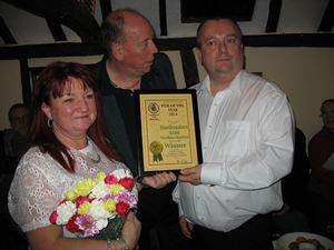 The Hurdlemakers Arms have won the Maldon and Dengie CAMRA pub of the year award for 2014